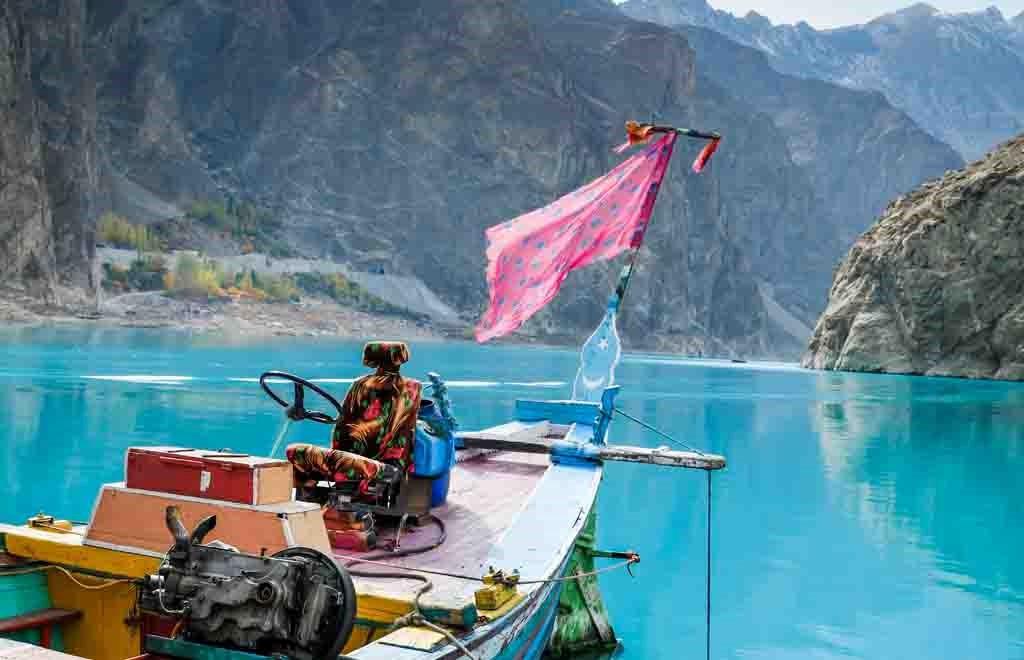 Turquoise Attabad Lake